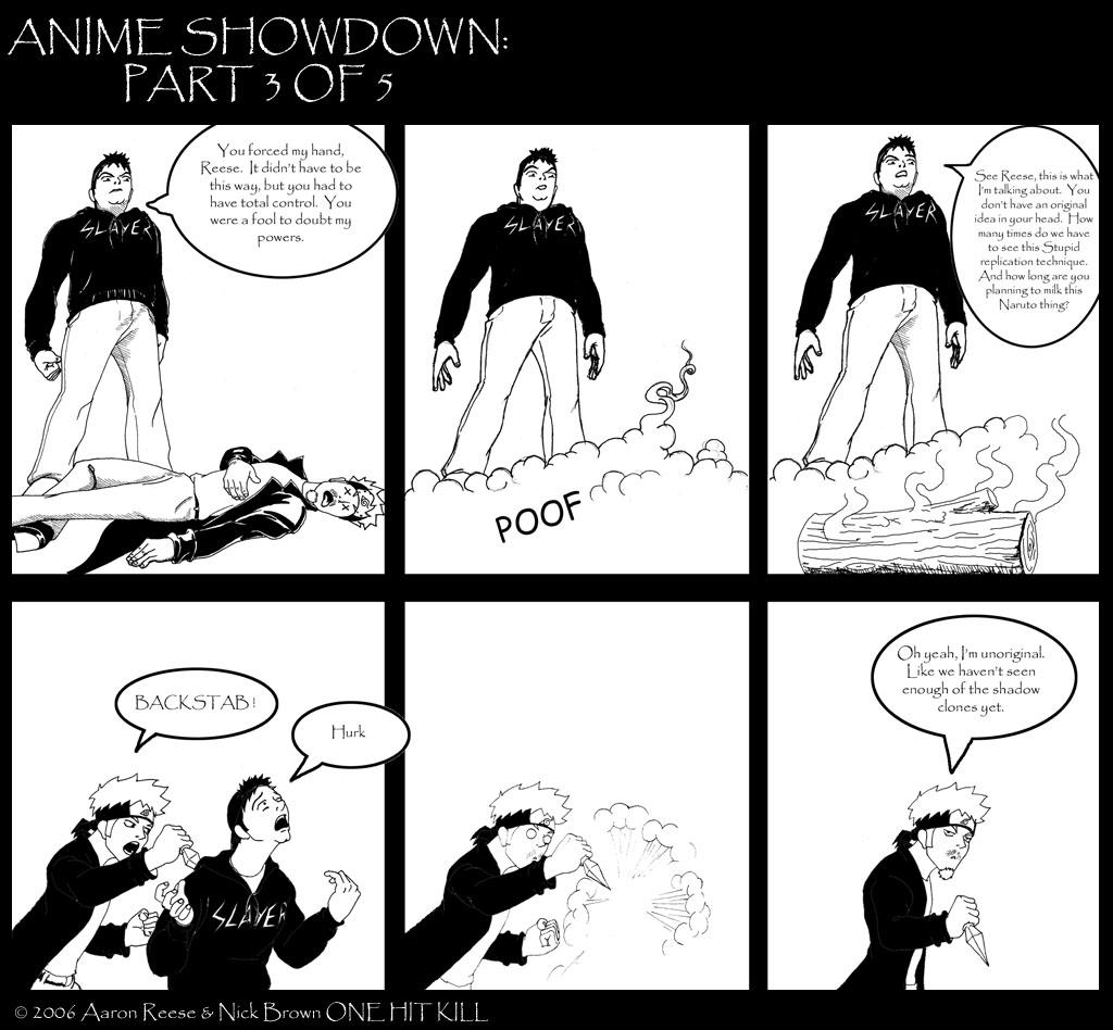 Anime Showdown Part 3